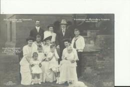 ADEL313   --  GROSSHERZOG VON MECKLENBURG - SCHWERIN NEBST FAMILIE, PRINZ CHRISTIAN VON DENMARK, MIT FAMILIE, UNSERE KRO