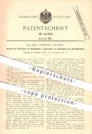 Original Patent - Dr. Paul Schoop In Zürich , 1900 , Elektrolyse Von Flüssigkeiten , Bleichflüssigkeit , Bleichen !!! - Documents Historiques