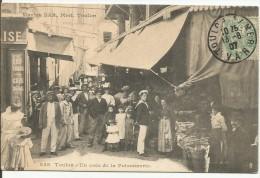 TOULON....VAR....un Coin De La Poissonnerie....très Belle Animation En Bon Plan...voir Magasins En 1907 - Toulon