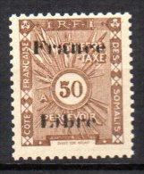 1/ Cote Des Somalis : Taxe   N° 34  Neuf XX , Cote : 4,50 € , Disperse Trés Grosse Collection ! - Ongebruikt