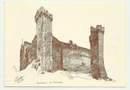 Montalcino La Fortezza Illustrata Non Viaggiata F.g. - Siena