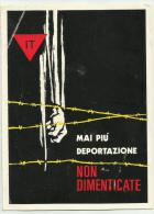 Mai Piu' Deportazione Non Dimenticate - Ass.nazionale Ex Deportati Politici Non Viaggiata F.g. - Militaria