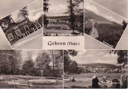 AK Gehren - Thüringen - Mehrbildkarte - 1971 (16980) - Gehren