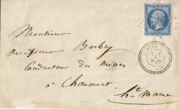 022. LSC N°22 - Càd Hortes - GC 1807 (HAUTE MARNE) à Chaumont - 1865 - 1849-1876: Période Classique
