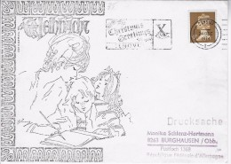 Mooie Gelopen Brief Met Prachtstempeling - Lettres & Documents