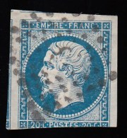 FRANCE - Scott #15-2 Emperor Napoleon III / Used Imperf. Stamp - 1853-1860 Napoleon III