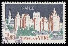 FRANCE - Scott #1547 Château De Vitré (*) / Used Stamp - Schlösser U. Burgen