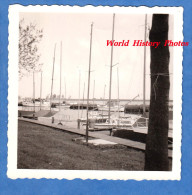 Photo ancienne - Hollande / Holland / Netherlands - Port de d�part du bateau pour l'ile de Marken