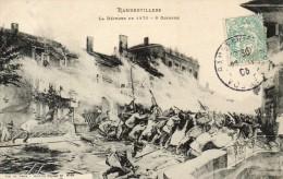 RAMBERVILLERS   La Defense De 1870 - Rambervillers