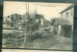 n�820 - Argenton Chateau ( deux s�vres ) moulin du bas bourg     - rav127