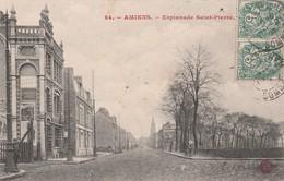 80000 AMIENS - ESPLANADE ST PIERRE En 1907 - Amiens