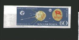 7724 Ungarn Magyar Posta Mi 1626 B Russ. Satelit - Otros