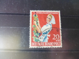 ALLEMAGNE  FEDERALE TIMBRE REFERENCE   YVERT N°170 - Used Stamps