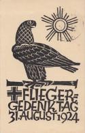 DR Privat-Ganzsache Minr. PP81 C4 SST Fliegerlager Wasserkuppe 30.8.24 - Deutschland