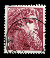 Greece, 1955, Scott #576, Bust Of Zeus, Used,  NH, VF - Greece