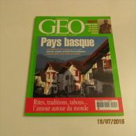 GEO N°294 (08/2003) : PAYS BASQUE - Géographie