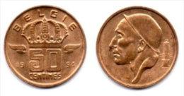BELGIUM BELGIEN 50 Centimes 1994. - 01. 50 Centiem