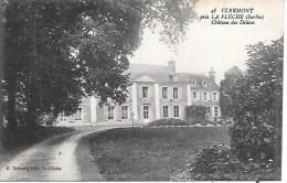 CLERMONT Près LA FLECHE - Château Des Délices - Non Classés