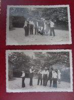 2 Photos  10.5 X7   Jeux de boules    1935
