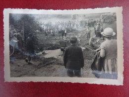 Les Am�ricains au pont de la Bigue   Juin 1944   Jeep   Photo 10.5 X 7