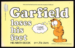 GARFIELD LOSES HIS FEET.1978 NINTH BOOK BY JIM DAVIS  CLEAN COPY - Boeken, Tijdschriften, Stripverhalen