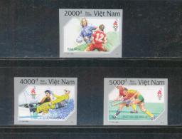 Vietnam Viet Nam MNH Imperf Stamps 1996 : Summer Olympic In USA / Field Hockey / Sailing / Woman Football (Ms736) - Vietnam
