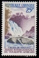 GABON - Scott #238 Kinguele Waterfall / Mint NH Stamp - Gabun (1960-...)