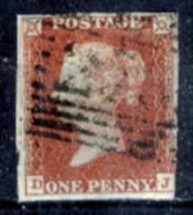 Gran-Bretagna-149 - 1841 - Y&T/U N.3 (o) - Privo Di Difetti Occulti. - Used Stamps