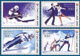 Belarus 2002 Mih. 439/42 Olympic Winter Games In Salt Lake City MNH ** - Belarus
