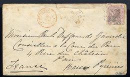 Lettre De Lucan Pour Pau 1877 - 1840-1901 (Victoria)