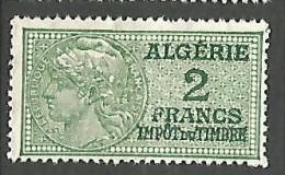 ALGERIE FISCAL   NEUF** SANS CHARNIERE  / MNH