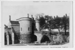 ANCIENT GATEWAY NOTTINGHAM CASTLE  Card-foto - Nottingham