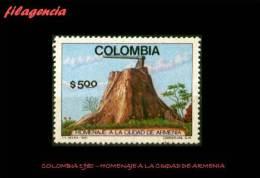 AMERICA. COLOMBIA MINT. 1980 HOMENAJE A LA CIUDAD DE ARMENIA - Colombia