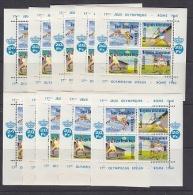 Belgie 1960 Erinnofilie E78 Olympische Spelen Rome Blokje 10x ** Mnh (F3957D) - Erinnophilie