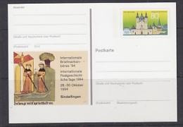 Germany 1994 Sindelfingen Postal Stationery Unused (23307) - [7] West-Duitsland