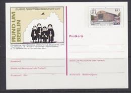 Germany 1987 Luposta Berlin Postal Stationery Unused (23308) - [7] West-Duitsland