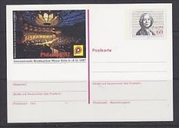 Germany 1987 Philatelia ´87 Essen Postal Stationery Unused (23308B) - [7] West-Duitsland