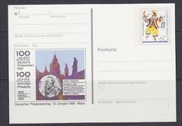 Germany 1989 Deutscher Philatelistentag Mainz Stationery Unused (23308D) - [7] West-Duitsland