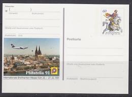 Germany 1991 Philatelia ´91 Köln Stationery Unused (23308E) - [7] West-Duitsland