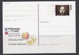 Germany 1995 Philatelia Köln / 100J Film  Postal Stationery Unused (23309A) - [7] West-Duitsland
