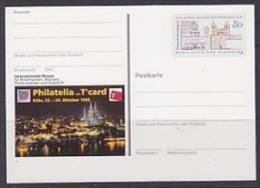 Germany 1993 Philatelia Köln  Postal Stationery Unused (23309A) - [7] West-Duitsland