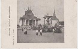 INDOCHINE CAMBODGE PHNOMPENH  CPA   PAGODE ROYAL  Réf  2764 - Cambodia
