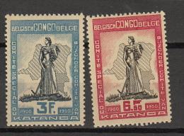 Congo Belge ocb nr : 298 - 299 * MH    (zie scan)