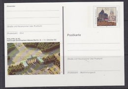 Germany 1992 Philatelia Berlin Postal Stationery Unused (23309F) - [7] West-Duitsland