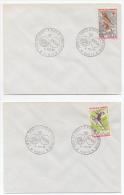Grenoble Isère Lot 5 Enveloppes Timbrées Oblitérées Jeux Olympiques 1968 état Superbe - France