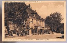 MOULIN - ABADIOL . Hôtel - Restaurant . '' L'Abri Du Moulin'' Depresle Propriétaire . - France