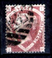 Gran-Bretagna-167 - 1870 - Y&T/U N.50 (o) - Filigrana 3 - Privo Di Difetti Occulti. - Oblitérés