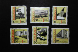 DDR  1980    Bauwerke Im Bauhaus-Stil - [6] Democratic Republic