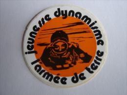 Autocollant, Sticker - Armée De Terre,Jeunesse Dynamique -Plongueur -             (796.p15) - Autocollants