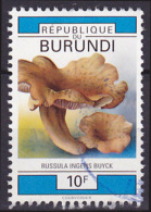 Timbre Oblitéré N° 972(Yvert) Burundi 1992 - Champignons - Burundi